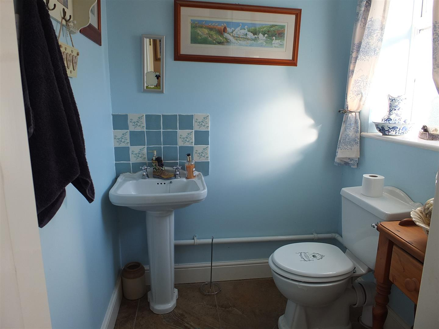 DOWSTAIRS CLOAKROOM